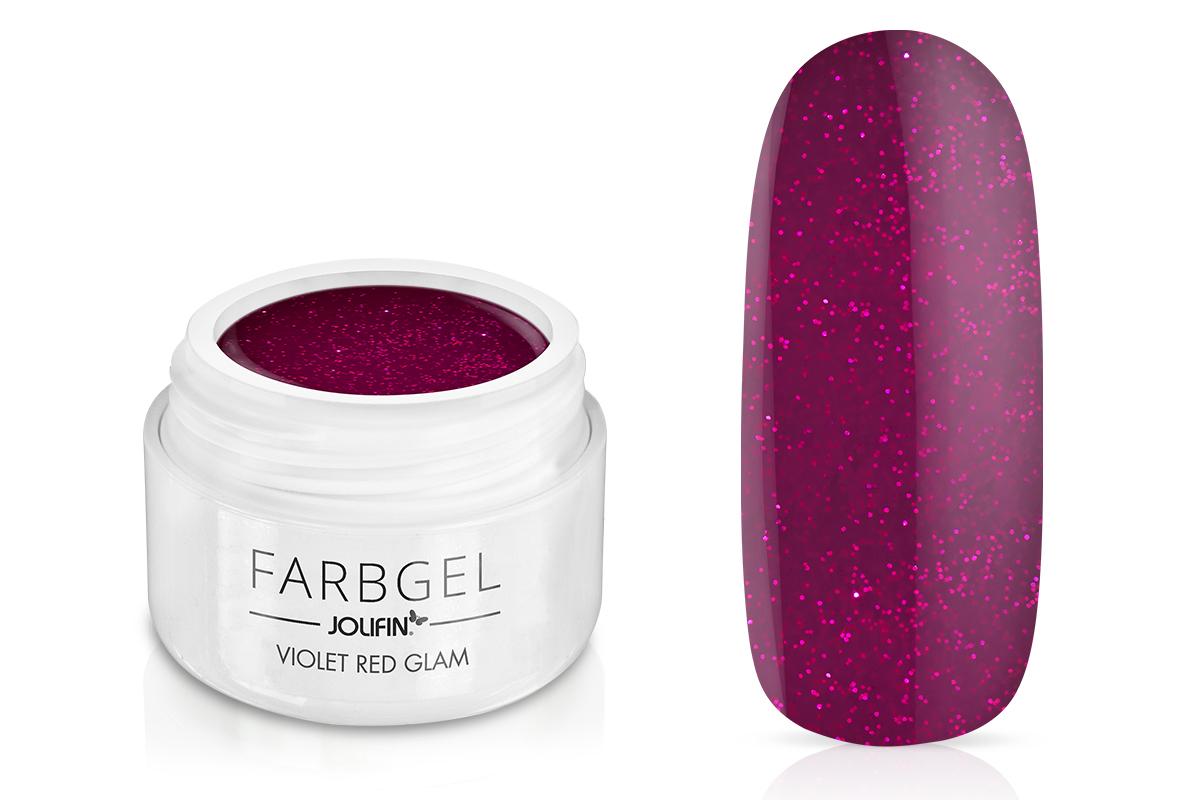 Jolifin Farbgel violet red Glam 5ml