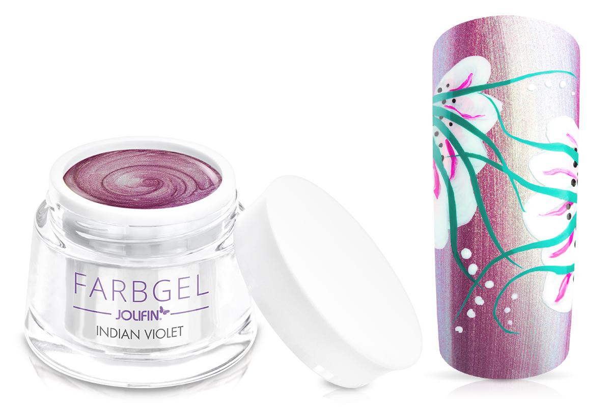 Jolifin Farbgel indian-violet 5ml