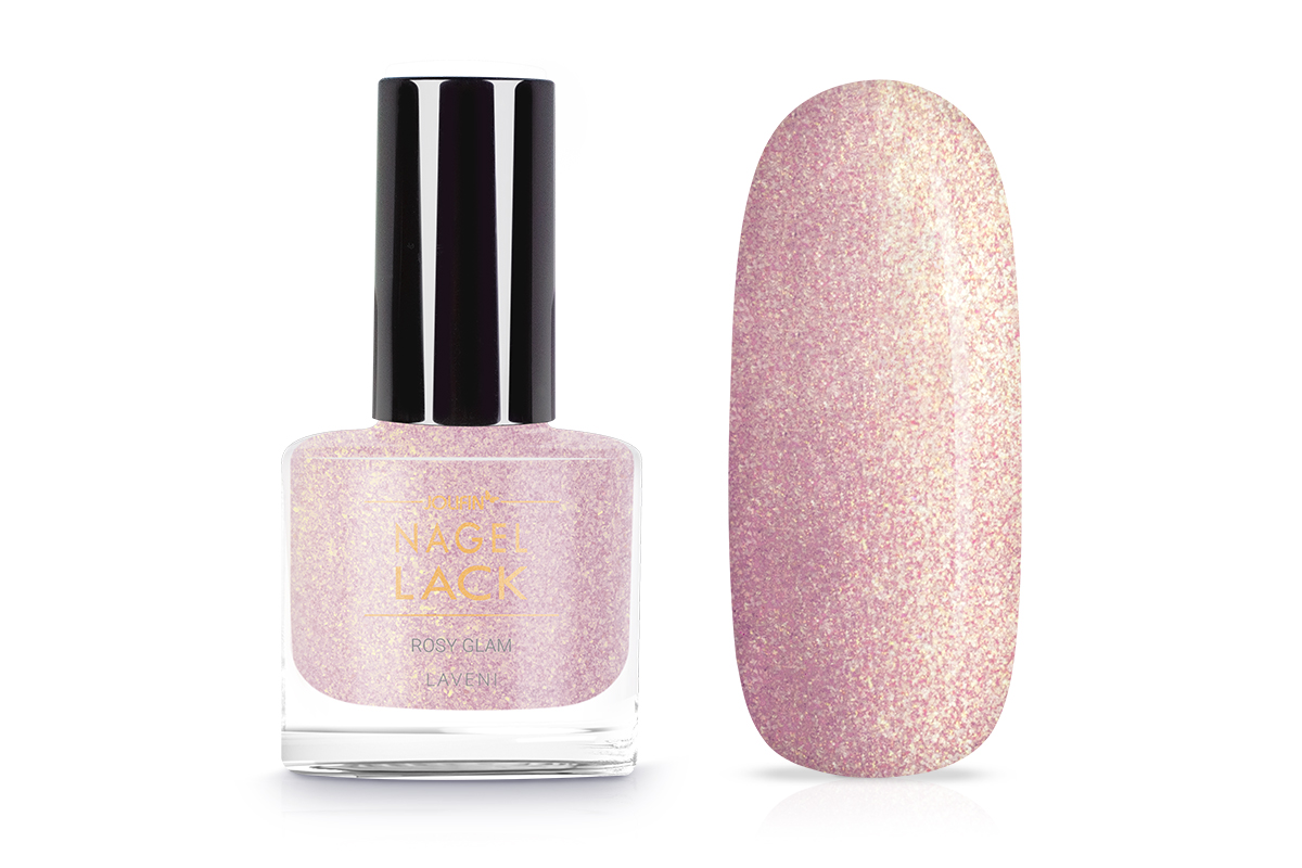 Jolifin LAVENI Nagellack - rosy glam 9ml
