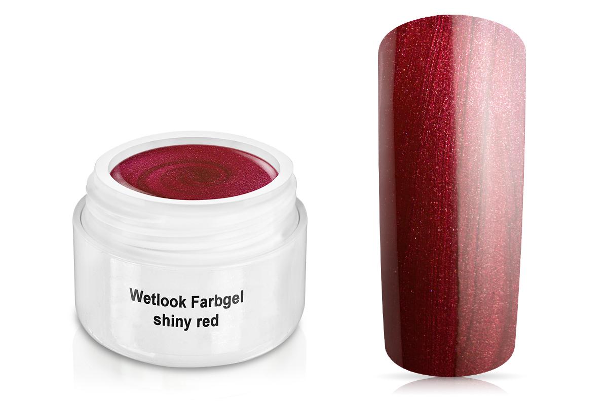 Wetlook Farbgel shiny red 5ml