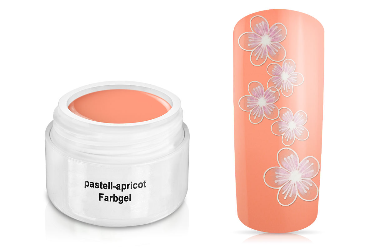 Farbgel - pastell-apricot 5ml