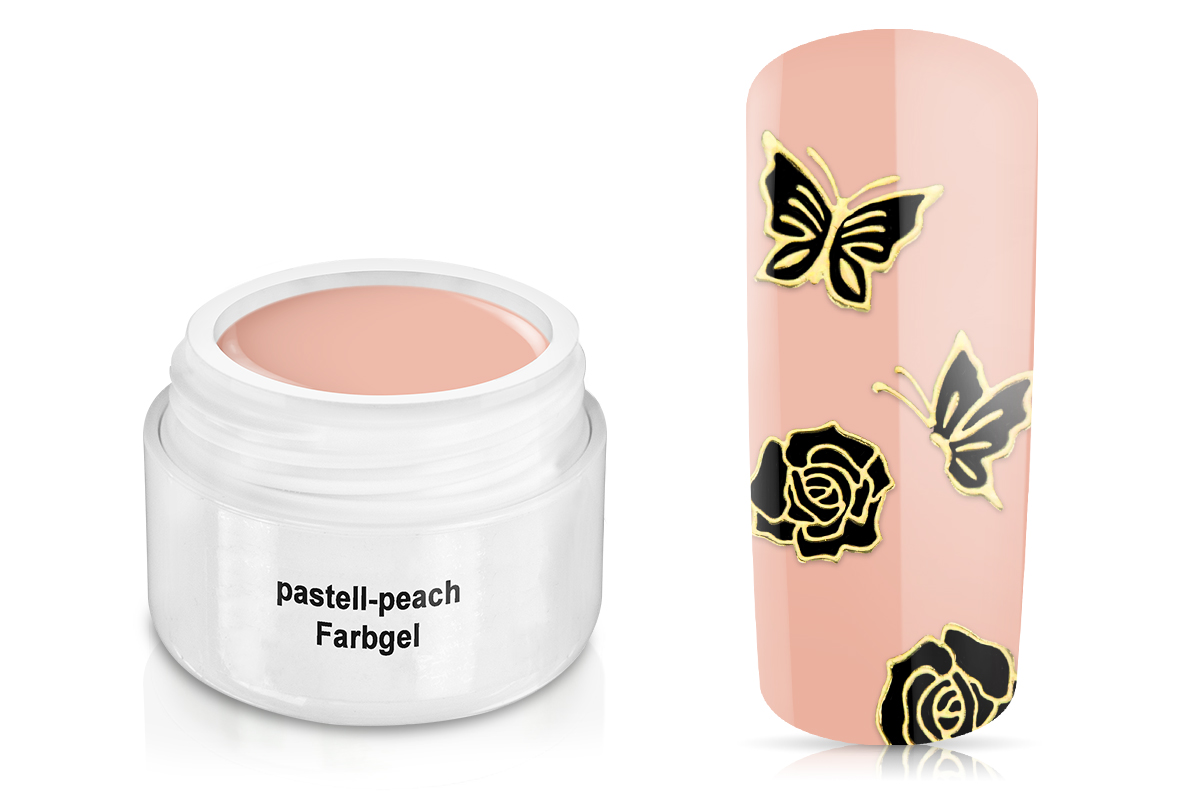 Farbgel pastell-peach 5ml