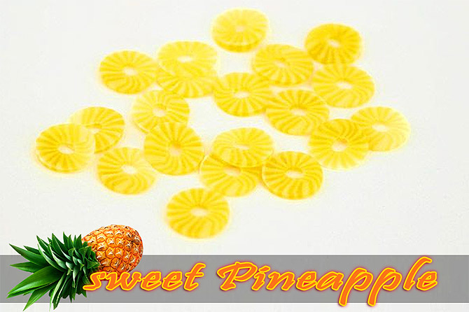 Fimo Frootys - sweet Pineapple