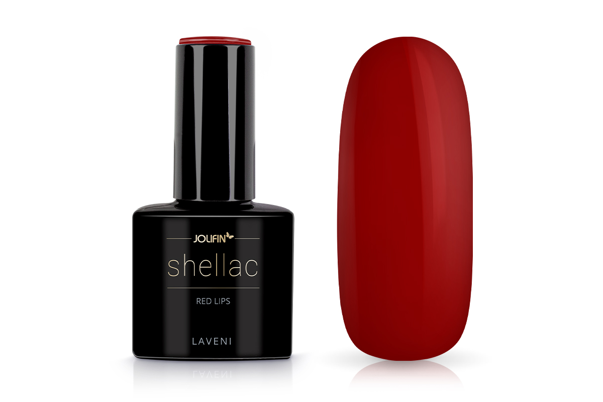Jolifin LAVENI Shellac - red lips 12ml