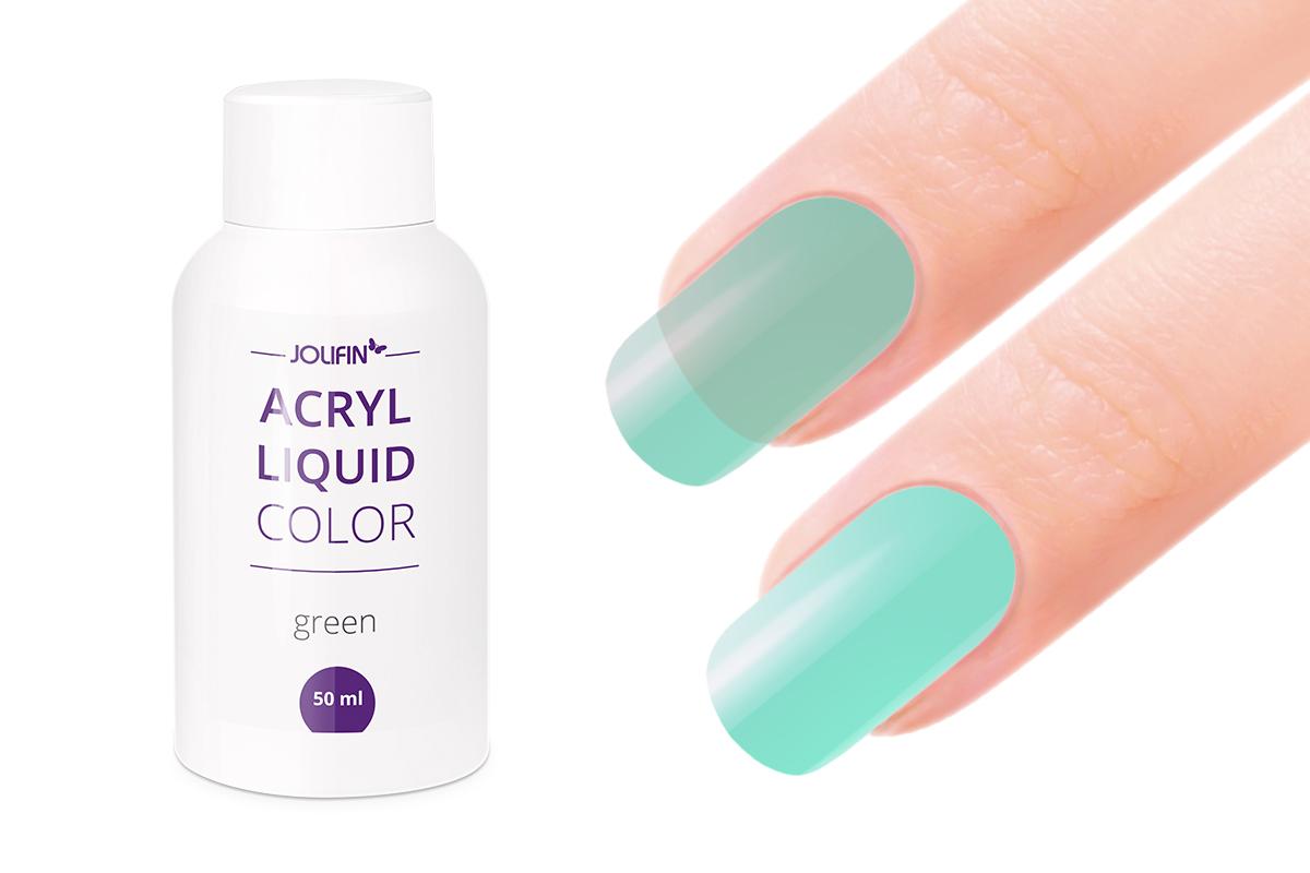 Jolifin Color Acryl-Liquid - green/mint 50ml