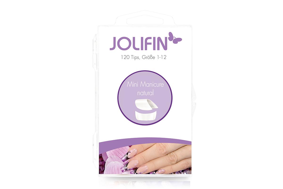 Jolifin 120er Tipbox mini manicure - natural