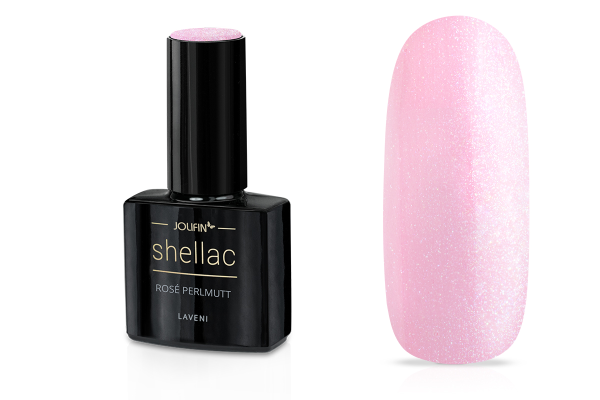 LAVENI Shellac - rosé perlmutt 12ml