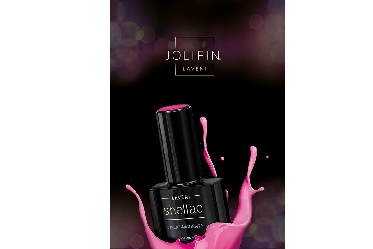 Jolifin LAVENI Shellac - Poster Farbklecks (DIN A2)