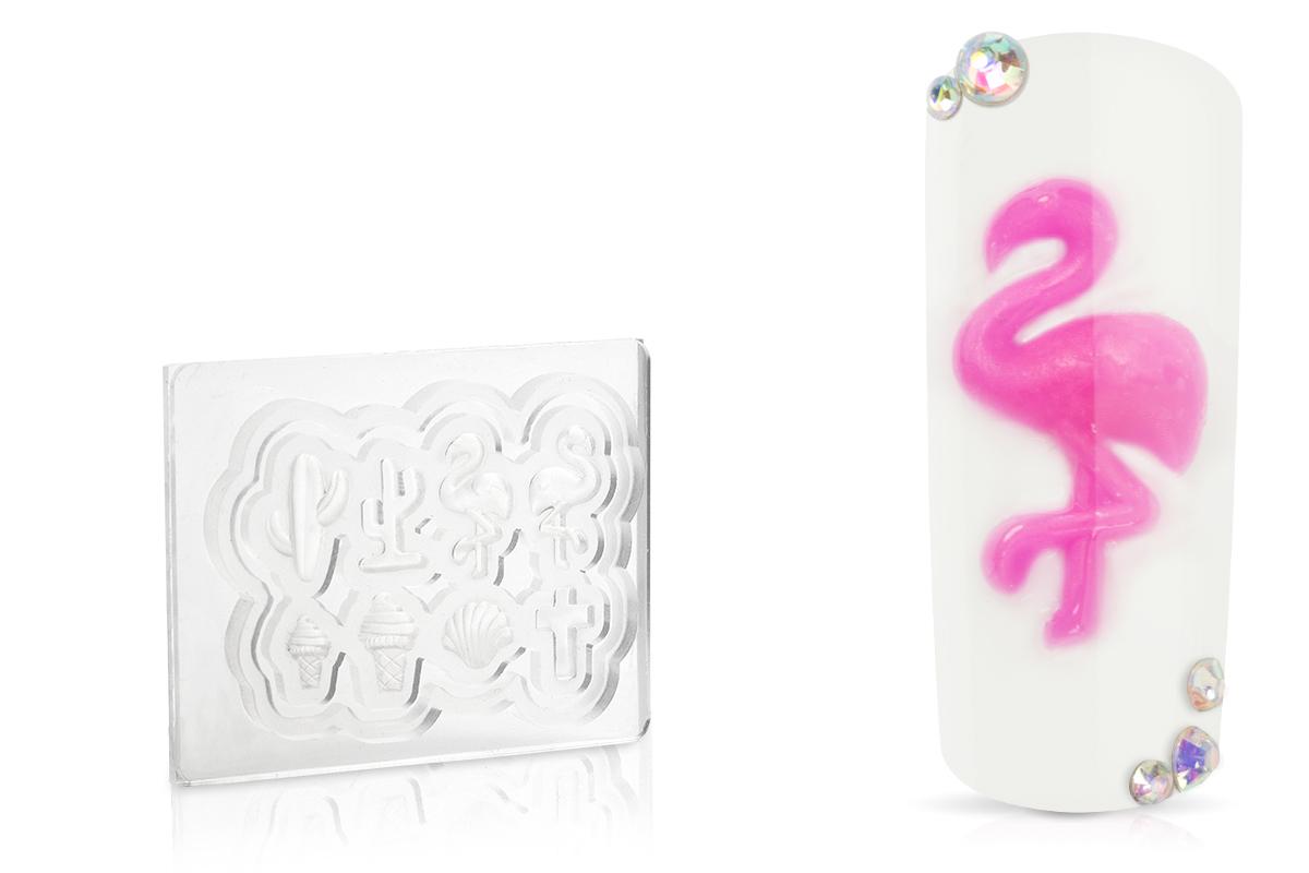 Jolifin 3D-Form - Flamingo party