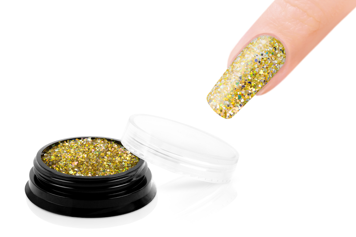 Jolifin LAVENI Luxury Glitter - gold