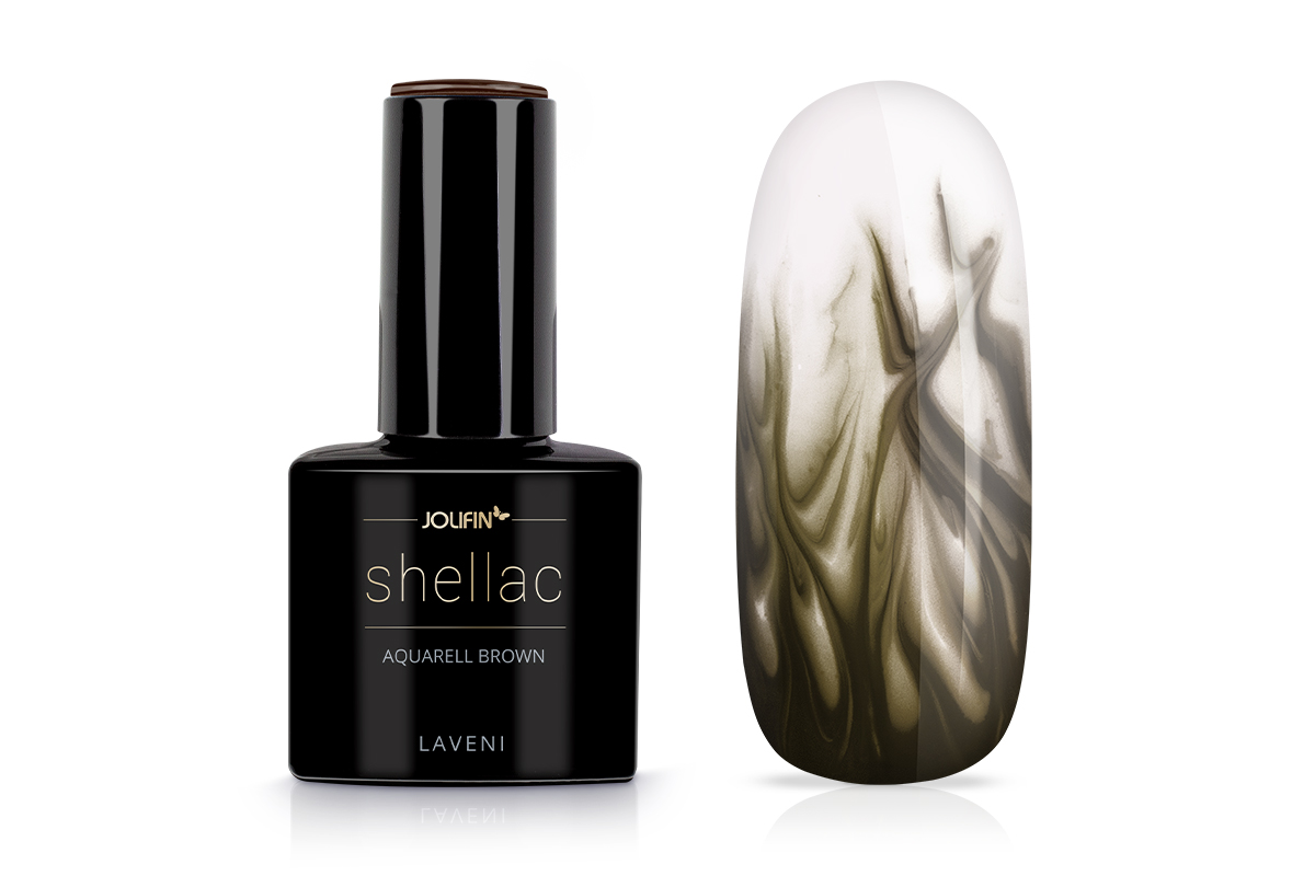 Jolifin LAVENI Shellac Aquarell - brown 12ml