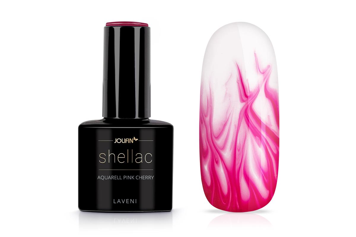 Jolifin LAVENI Shellac Aquarell - pink cherry 12ml