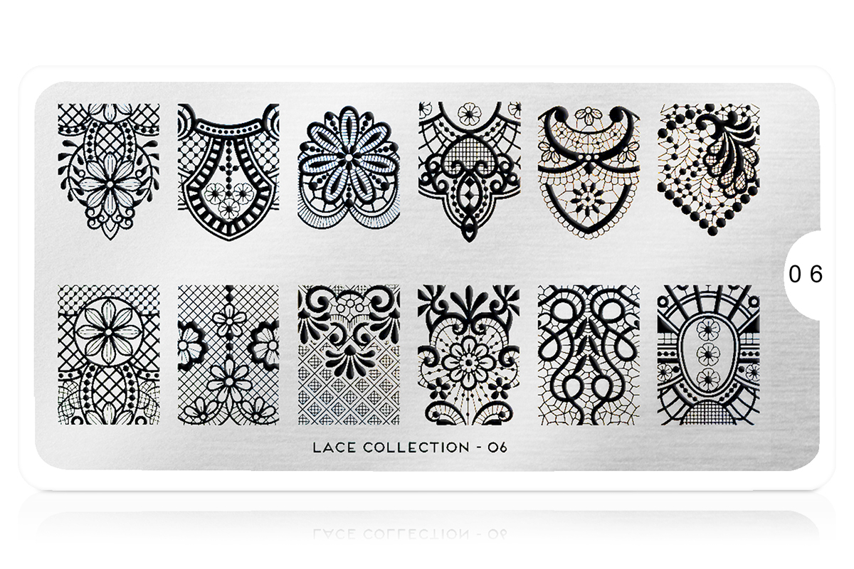 MoYou-London Schablone Lace Collection 06