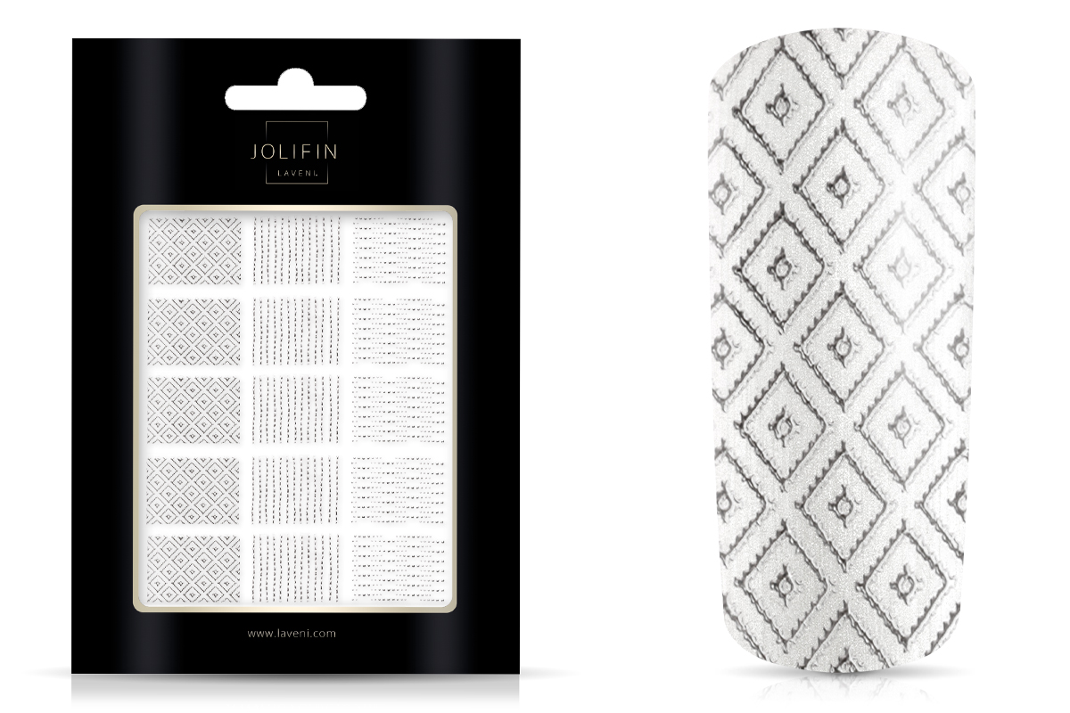 Jolifin LAVENI XL Sticker Wrap - Nr. 1 silver