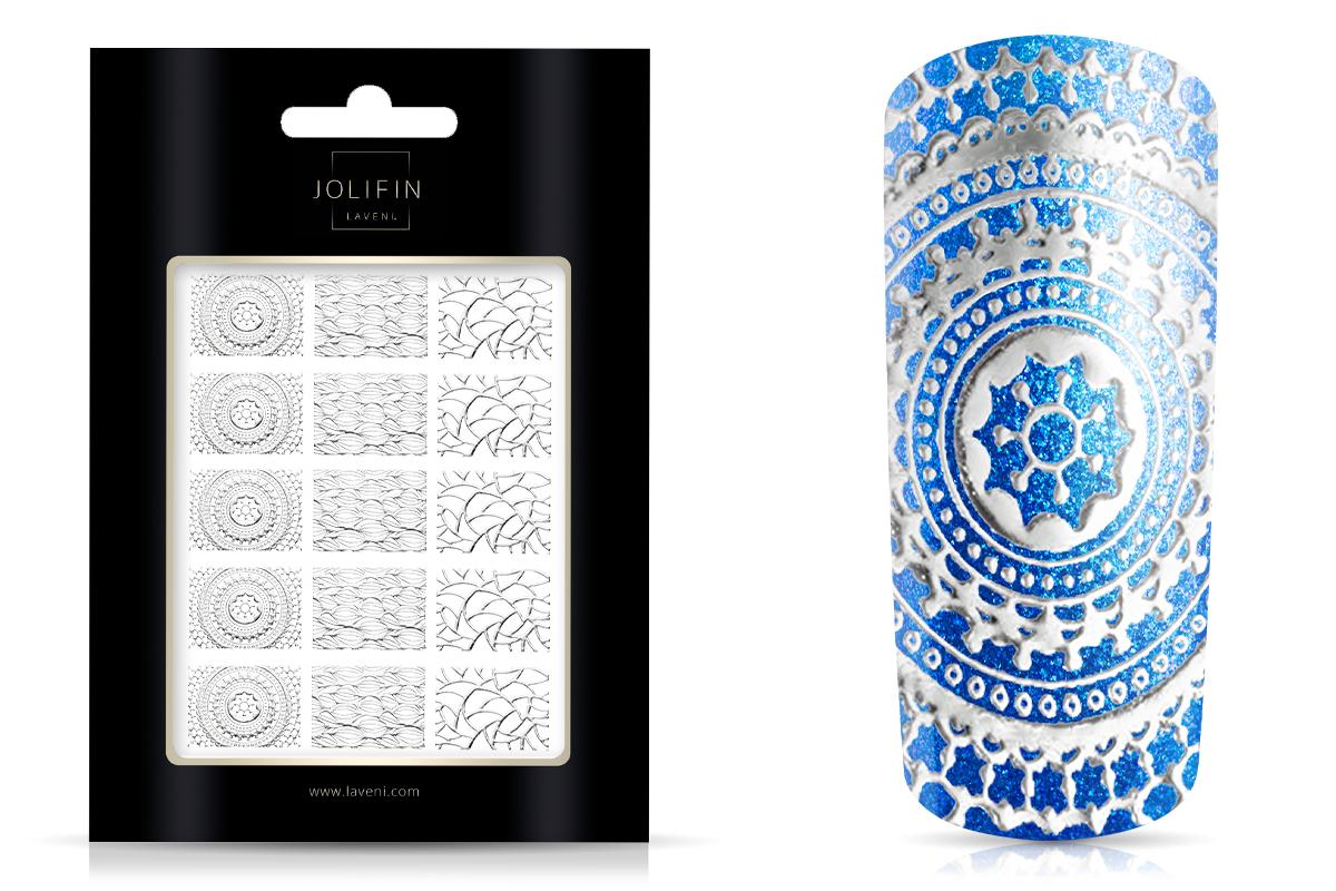 Jolifin LAVENI XL Sticker Wrap - Nr. 6 silver