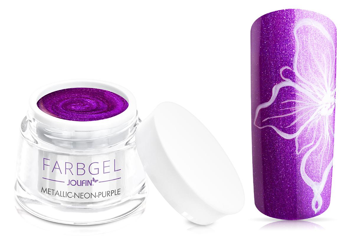 Jolifin Farbgel metallic neon-purple 5ml