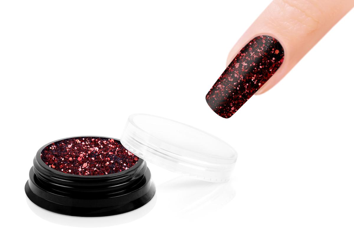 Jolifin LAVENI Sparkle Glitter - red