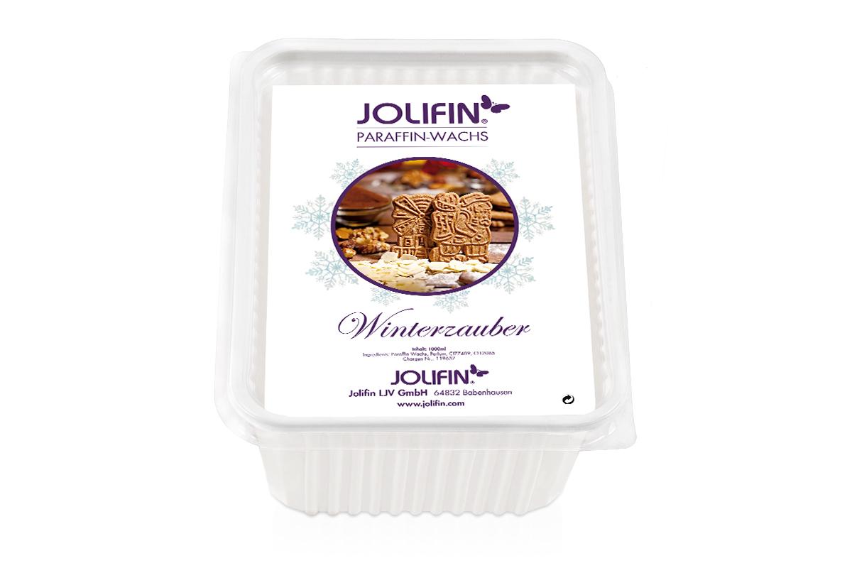 Jolifin Paraffin Ersatzblock - Winterzauber 1L