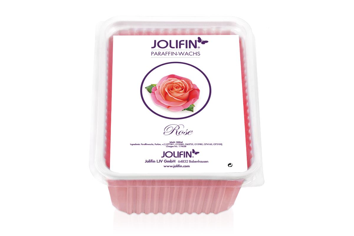 Jolifin Paraffin Wachsblock - Rose 1L