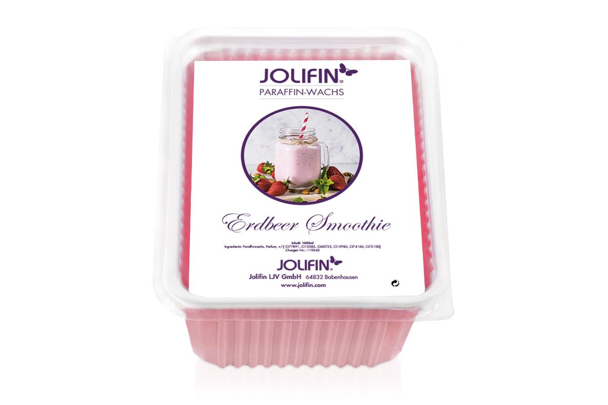 Jolifin Paraffin Wachsblock - Erdbeer Smoothie 1L