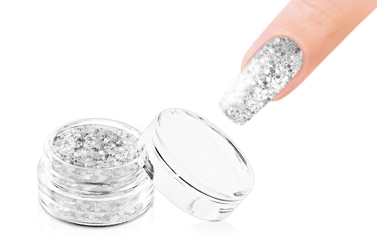 Jolifin LAVENI Glitterpuder Silver Glam - silver