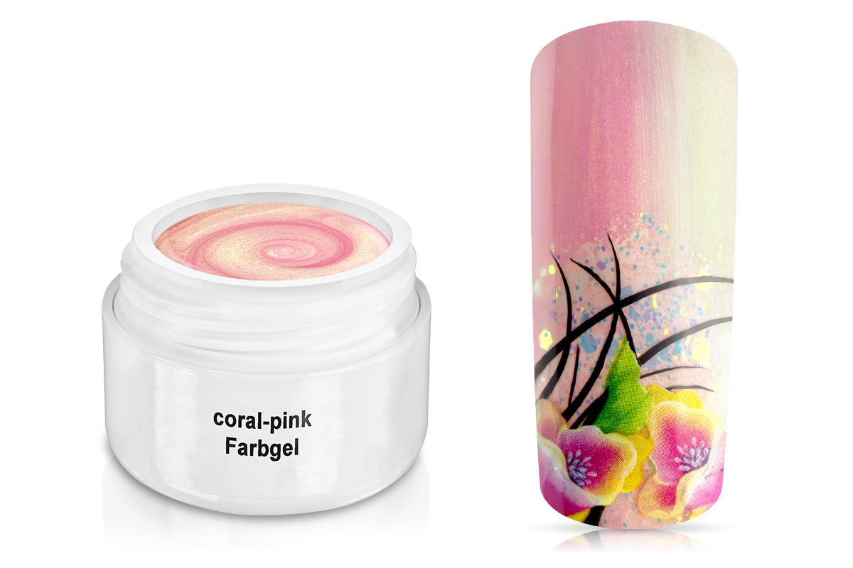 Farbgel coral-pink 5ml
