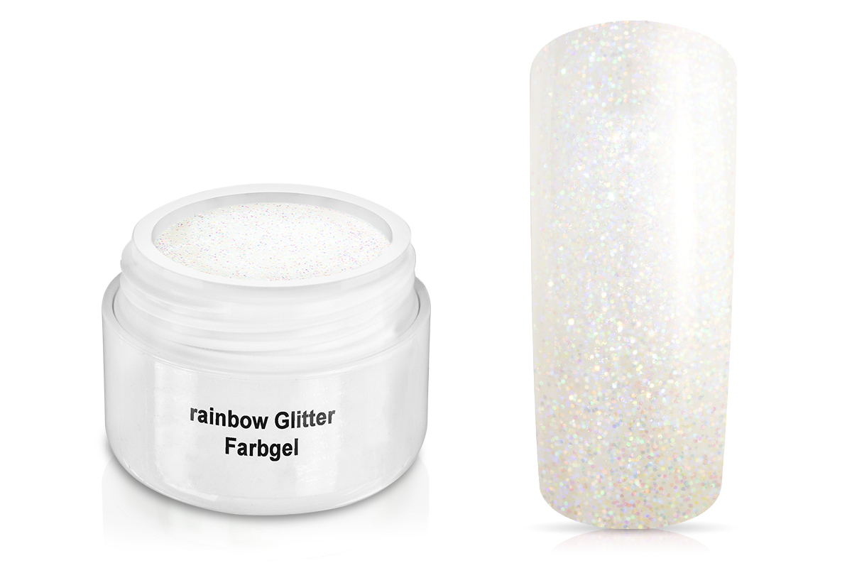 Farbgel rainbow Glitter 5ml