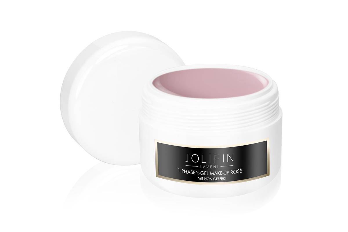 Jolifin LAVENI Refill - 1Phasen-Gel Make-Up rosé mit Honigeffekt 250