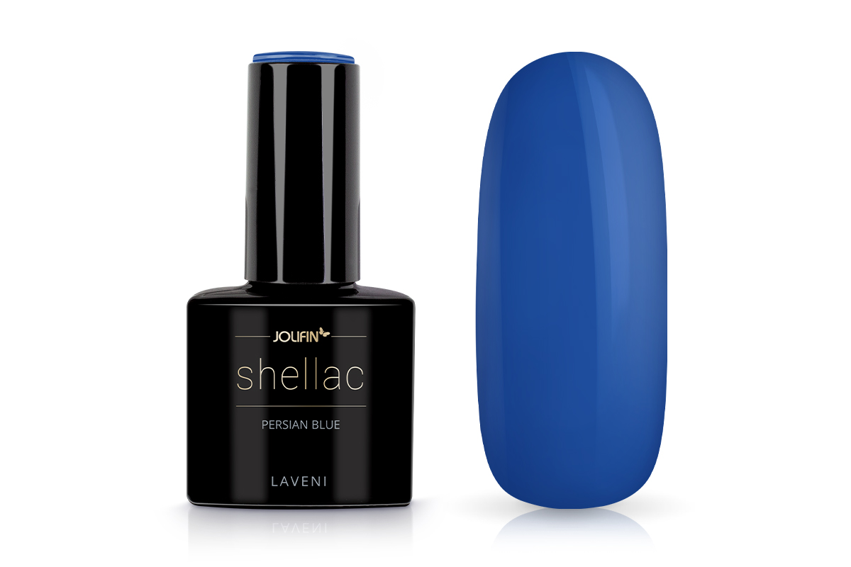 Jolifin LAVENI Shellac - persian blue 12ml