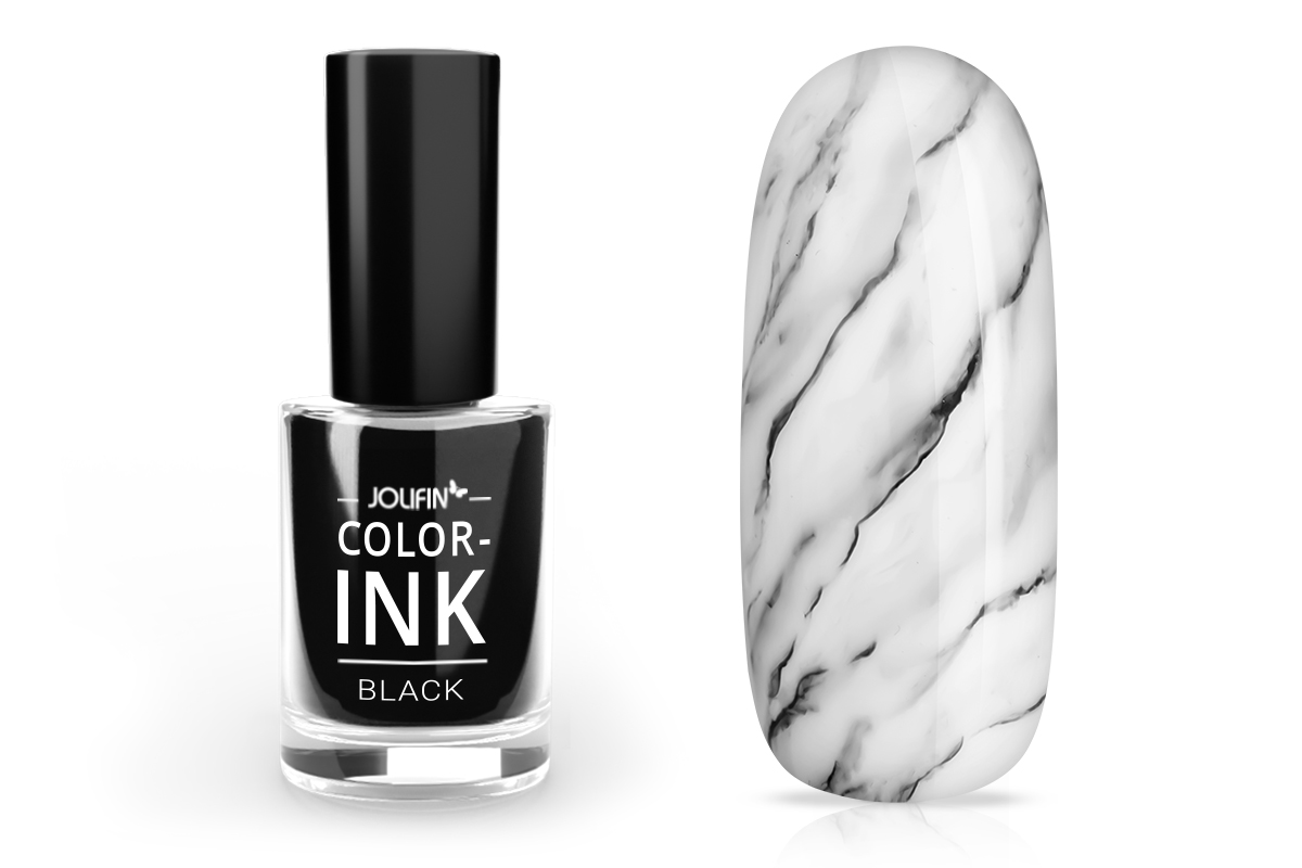 Jolifin Color-Ink - black 5ml