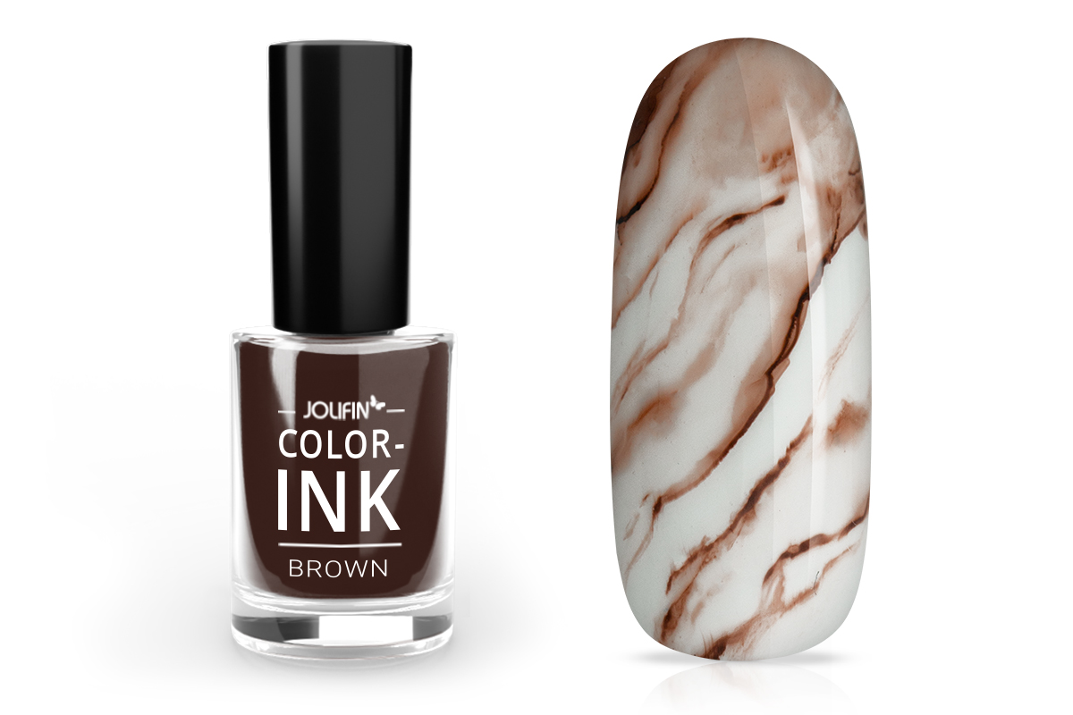 Jolifin Color-Ink - brown 5ml