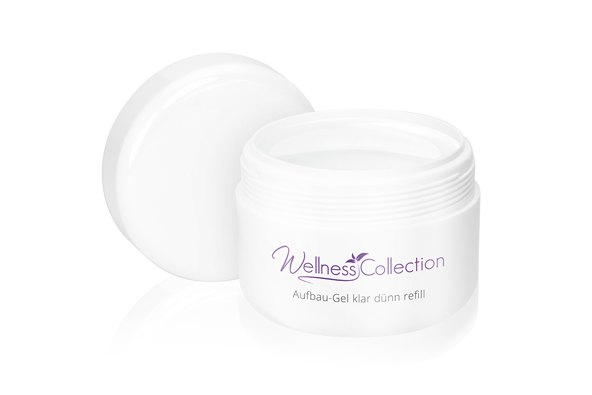 Jolifin Wellness Collection Refill - Aufbau-Gel klar dünn 250ml
