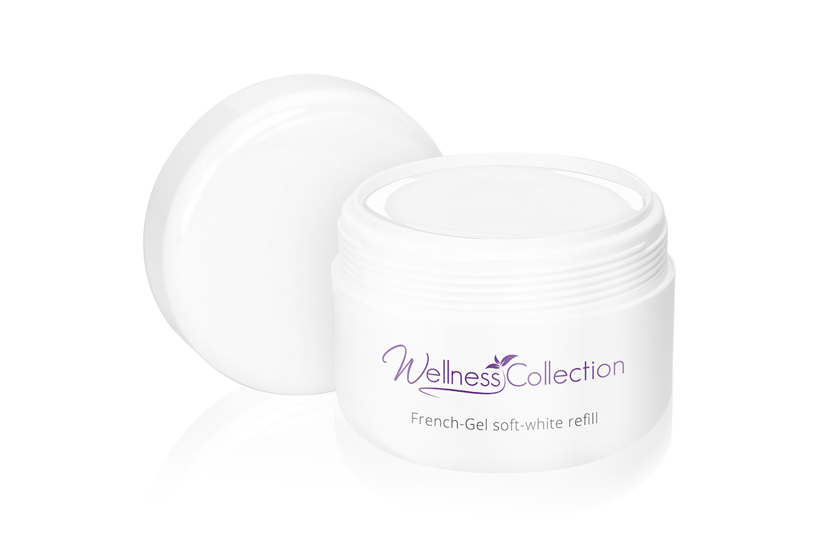Jolifin Wellness Collection Refill - French-Gel soft white 250ml