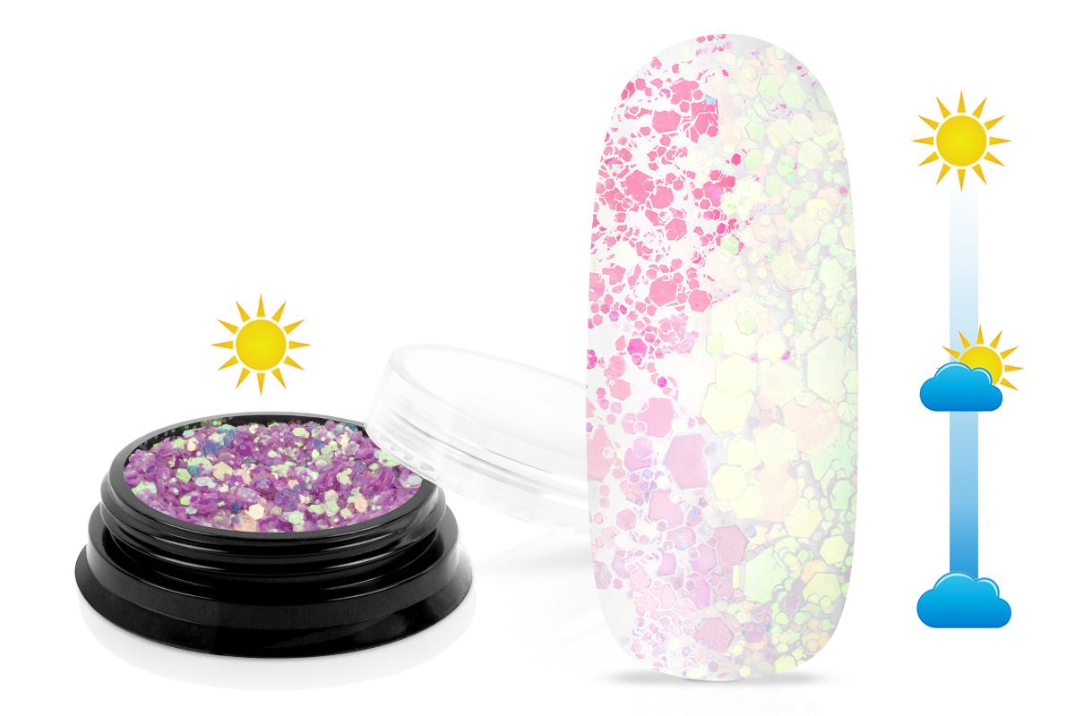 Jolifin LAVENI Solar Glitter - magenta