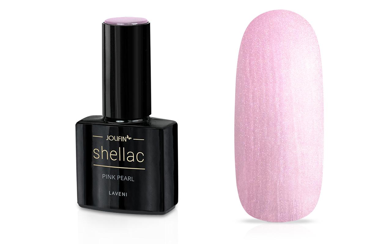 Jolifin LAVENI Shellac - pink pearl 12ml