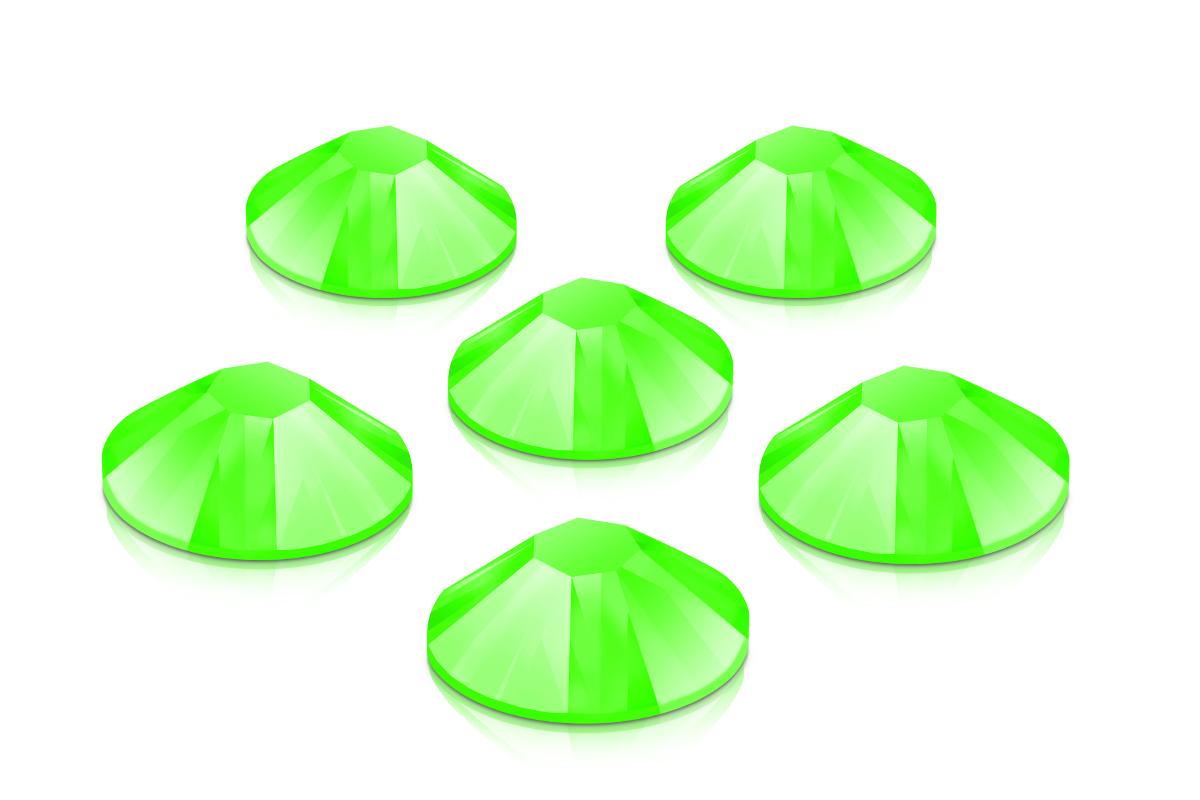 Swarovski Strasssteine - Neon Green - 2,7mm