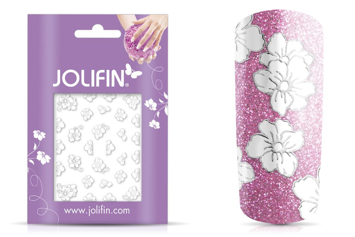 Jolifin Silver Glam Sticker 15