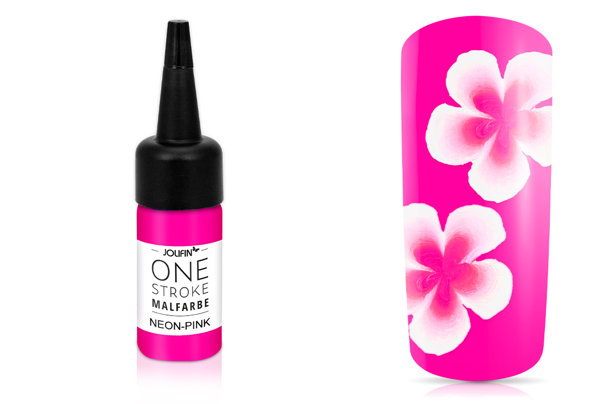 Jolifin One-Stroke Malfarbe neon-pink 14ml