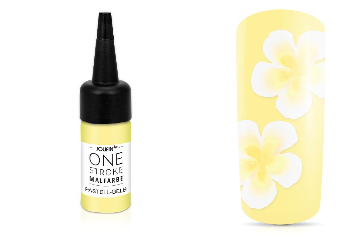 Jolifin One-Stroke Malfarbe pastell-gelb 14ml