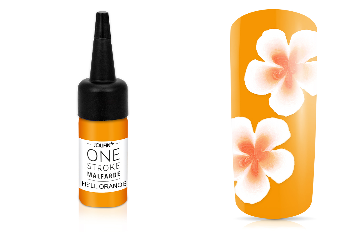 Jolifin One-Stroke Malfarbe hell orange 14ml