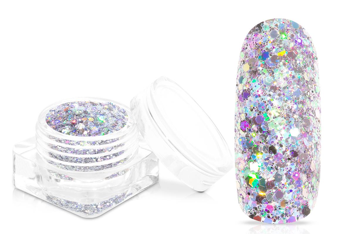 Jolifin Super-Glossy Glitter - silver