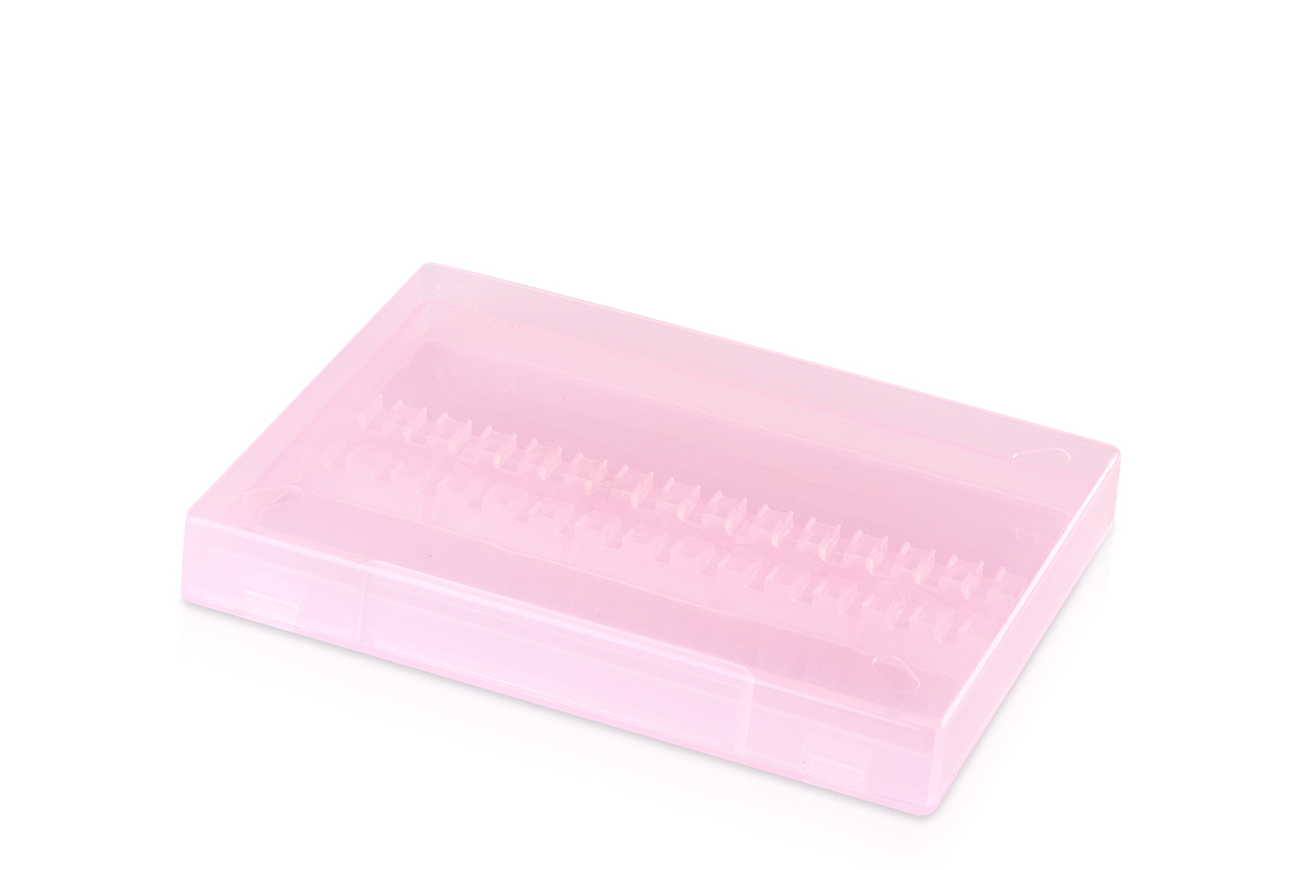 Jolifin Aufbewahrungsbox für Fräser-Bits - pink