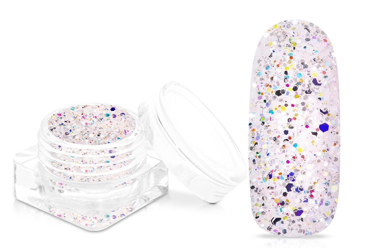Jolifin Glitterpuder Silvermix - pearly elegance