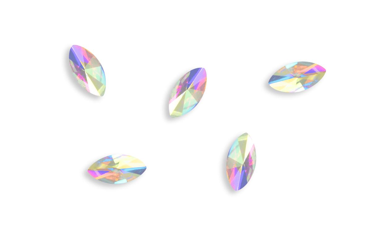 Jolifin LAVENI Strass-Diamond - small cat-eye irisierend