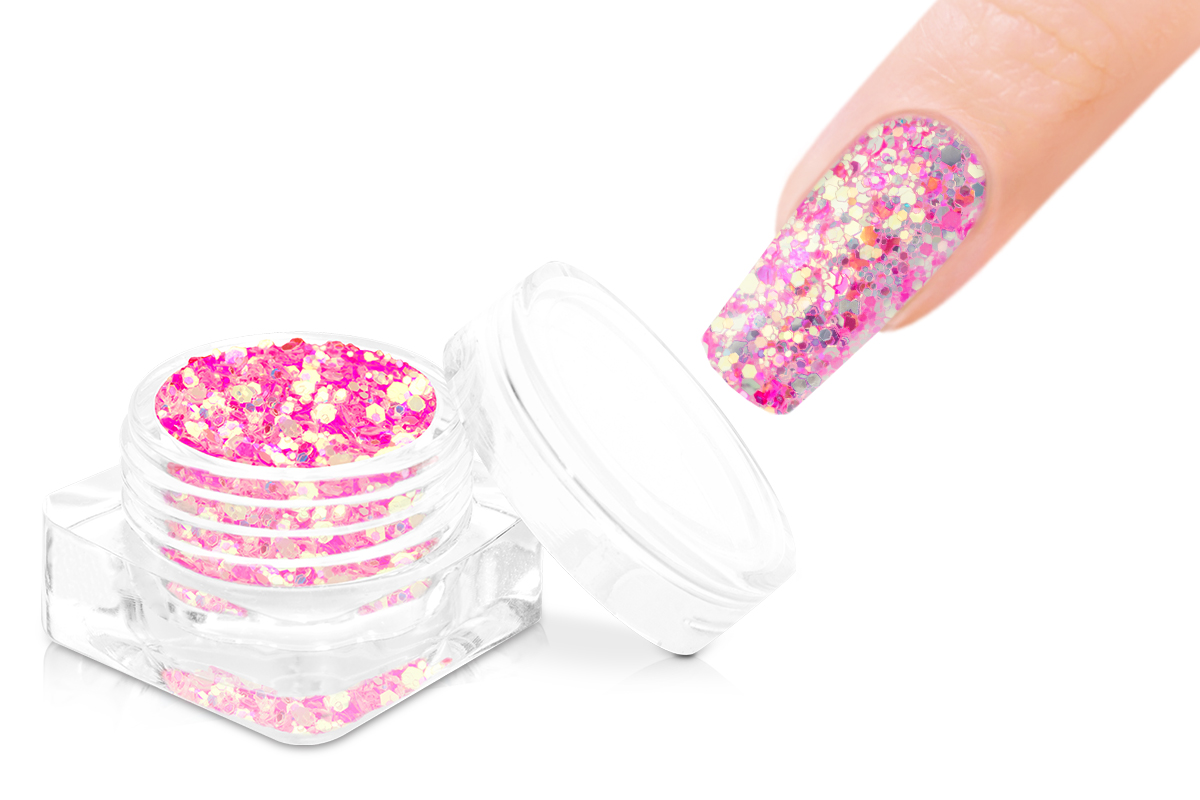 Jolifin Sunset Glitter - pink