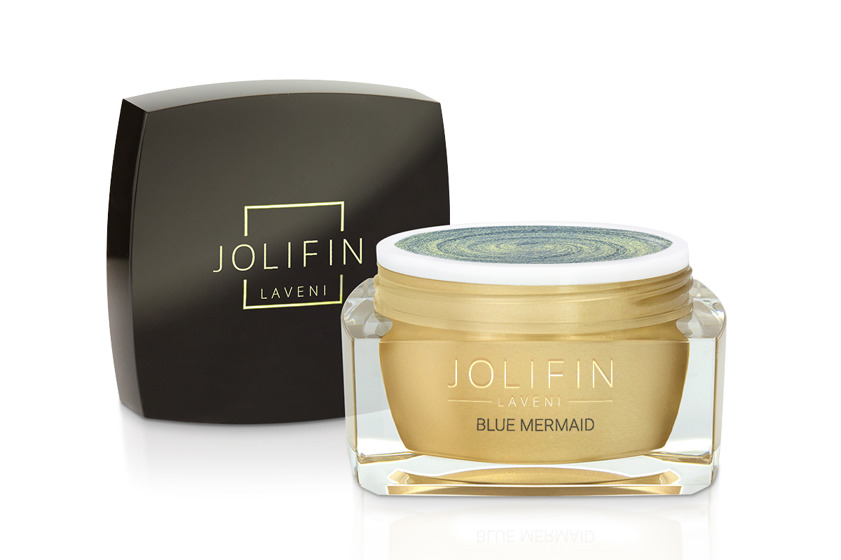Jolifin LAVENI Farbgel - blue mermaid  5ml