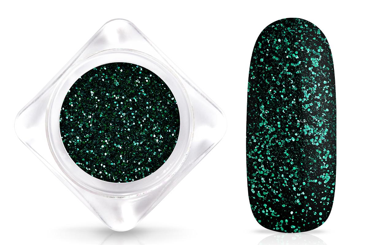 Jolifin Glitterpuder - elegance smaragd