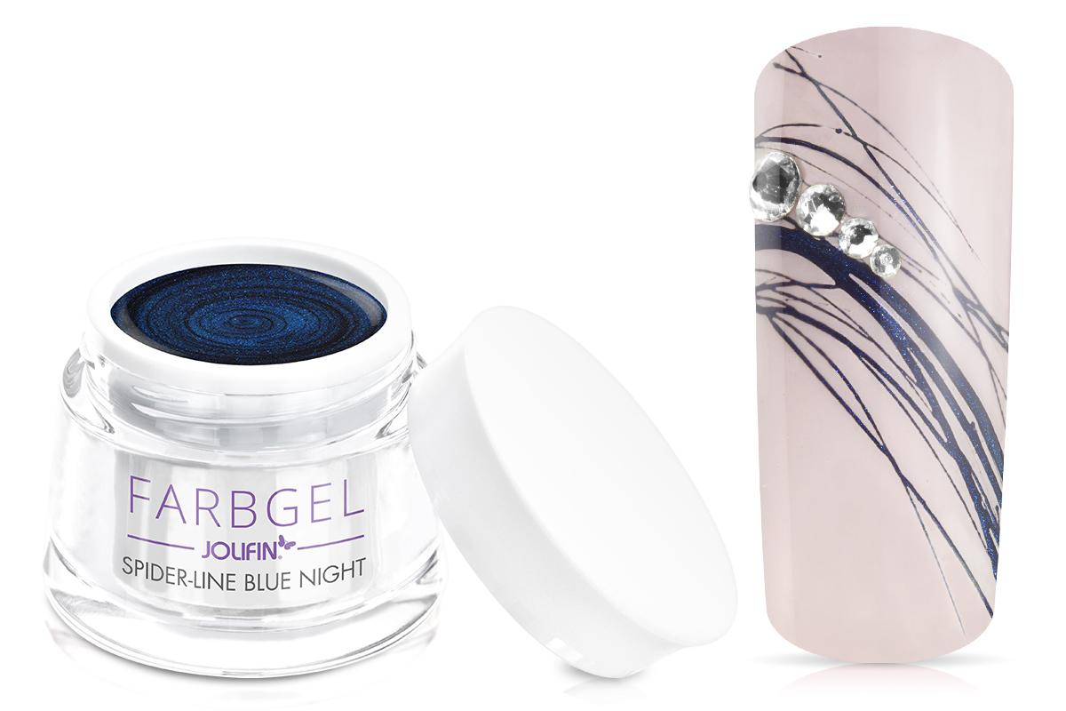 Jolifin Spider-Line Gel - blue night 5ml
