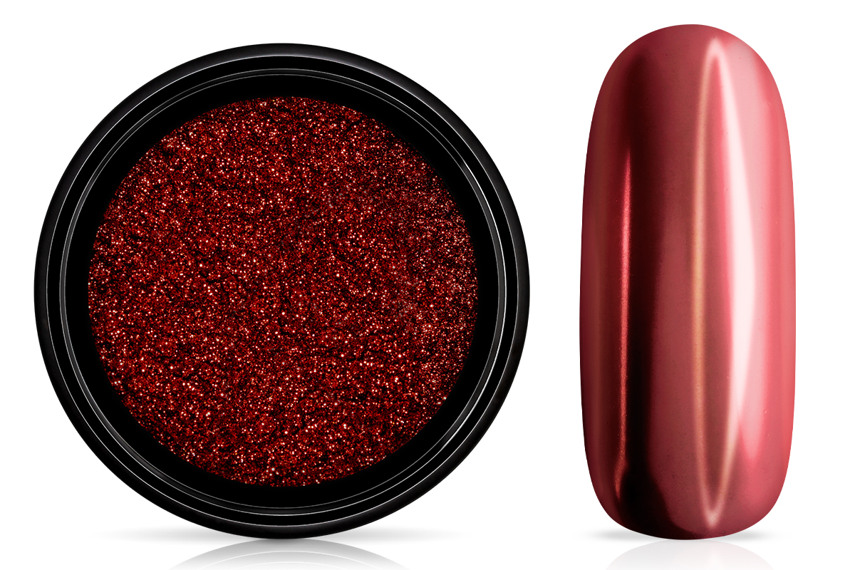 Jolifin Super Mirror-Chrome Pigment - red