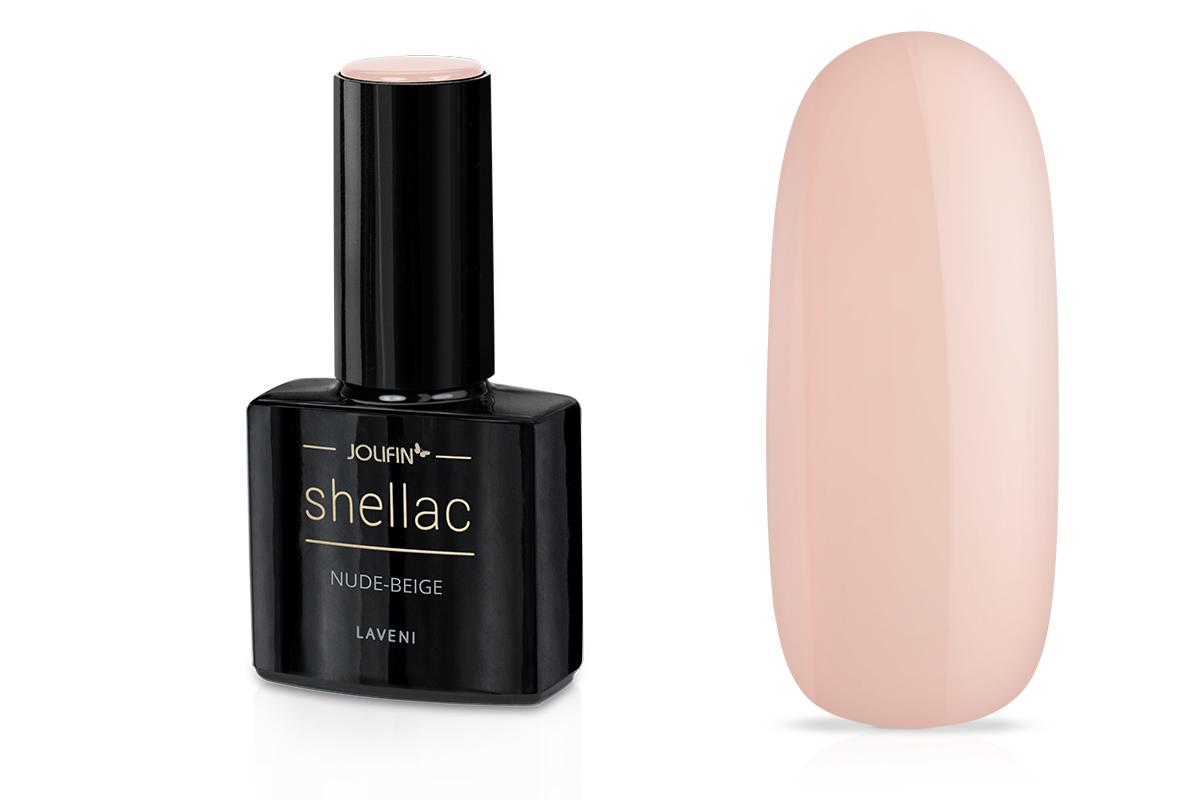 Jolifin LAVENI Shellac - nude-beige 12ml